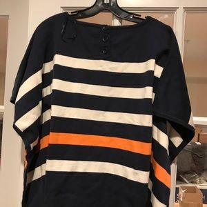 Tyler boe poncho sweater